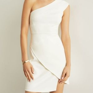 BCBGMaxazria Off White Aryanna Dress